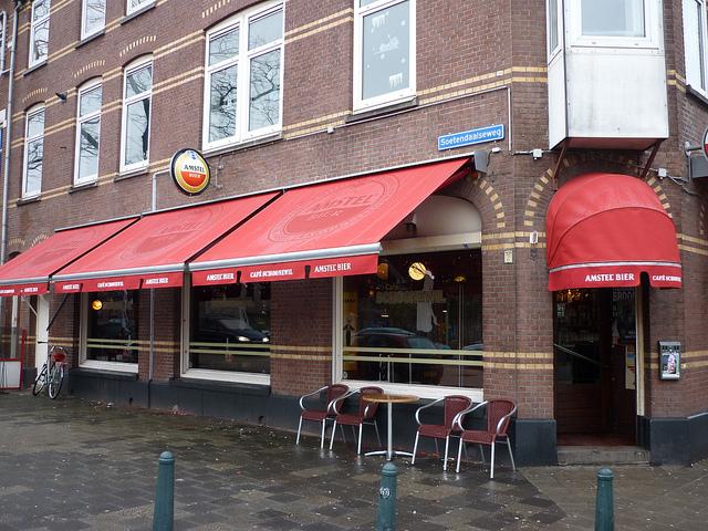 Cafe Schoonewil buiten