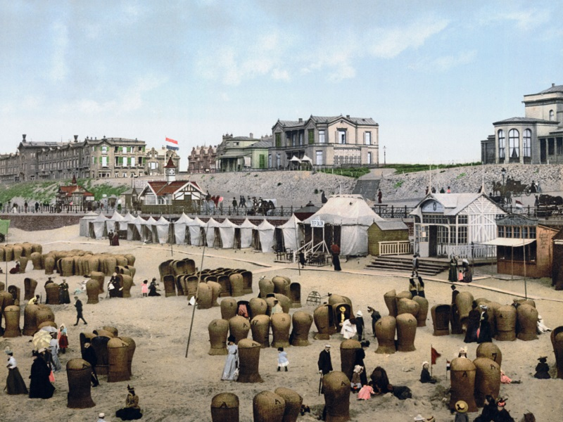 Westland - VOF Jac. P. Vrolijk, tenten strand 1894