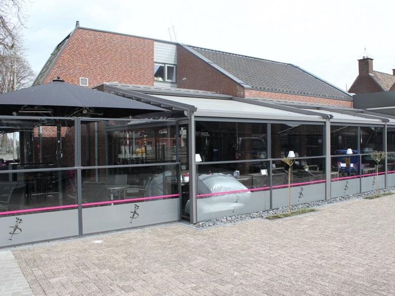 Prosecco terras horeca terrassen - Overdekt terras voor restaurant ...