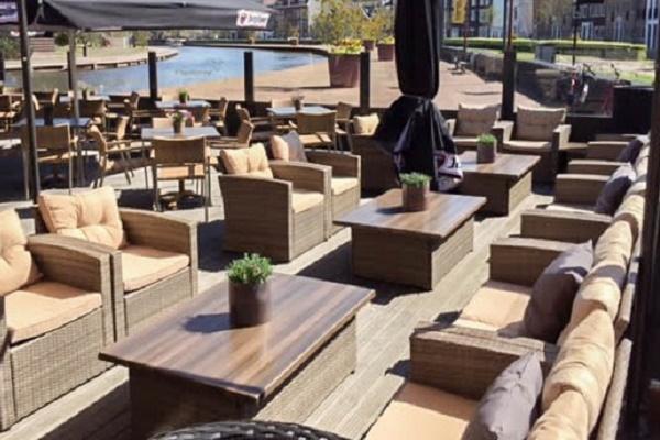 Restaurant Provenier Schiedam, Terras